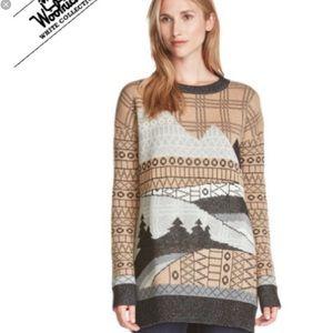 NWT Woolrich Fallscape Crewneck Sweater XL
